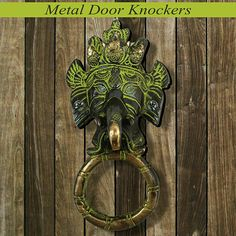 Door Knockers, Door Handles, Vintage Fashion, Bronze, Doors, Metal, Home Decor, Decoration Home, Fashion Vintage