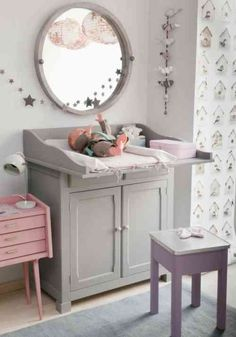 commode avec grande surface langer - Table A Langer Commode