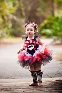 Pirate Girl Costume TuTu Set