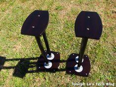 DIY speaker stand using Ikea Adils Table Legs - IKEA Hackers