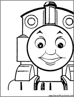 Thomas the Tank Engine Coloring Pages | Team colors | Preschool ...