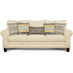 1140-KPNATURALSO  Fingerprint  88  Natural Upholstered Sofa