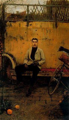 Retrato de Ramón Casas. 1889