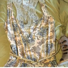 """Playsuit SALE HIT BUY/BUNDLE Dusty Pink and Blue Romper • SOLD OUT IN STORES Nordstroms Bp by: Mimi Chica (not Tea& Cup)  