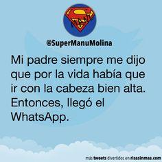 Entonces llegó el WhatsApp
