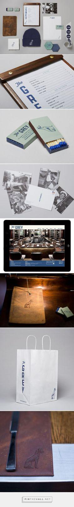 The Grey Restaurant Branding by LMNOP Creative   Fivestar Branding – Design and Branding Agency & Inspiration Gallery