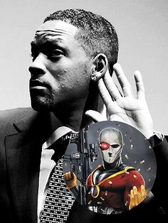 Will Smith is Deadshot #Suicide_Squad_Movie #Suicide_Squad #The_Joker #Harley_Quinn #Deadshot #Rick_Flagg #Captain_Boomerang #Enchantress #DC_Comics