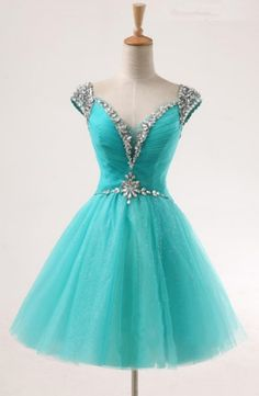 V-Neck Homecoming Dresses, Light Sky Blue Homecoming Dresses, Light Sky Blue V-Neck Homecoming Dresses, V-Neck Homecoming Dresses, Teal V-neck A-line Short Tulle Beaded Homecoming Dresses, Light Blue dresses, Short Homecoming Dresses, Blue Homecoming Dresses, Sky Blue dresses, Light Blue Short dresses, Short Blue Dresses, Homecoming Dresses Short, Light Blue Homecoming Dresses, Blue Short Dresses, Teal Homecoming Dresses, Short Tulle dresses, Teal Blue Dresses