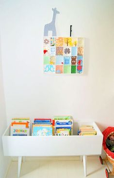 DIY Book Bin for Kids (made from a drawer)