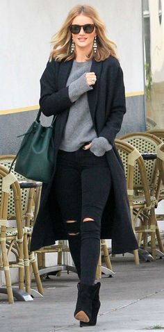 """ROSIE HUNTINGTON-WHITELEY'S COAT:  """"The Robe"""" topper by AYR for $485"""