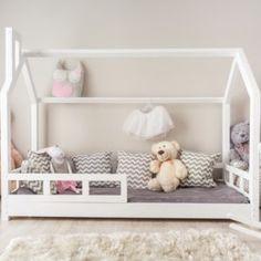 Kinderbett Kinderhaus Bett für Kinder 28 Dimensions SICHERHEITBARRIEREN FARBEN