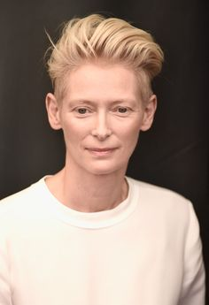 Tilda Swinton, Many Faces, Perfect Image, Fashion 2020, New Hair, Envy, Short Hair Styles, Hair Cuts, Hair Beauty