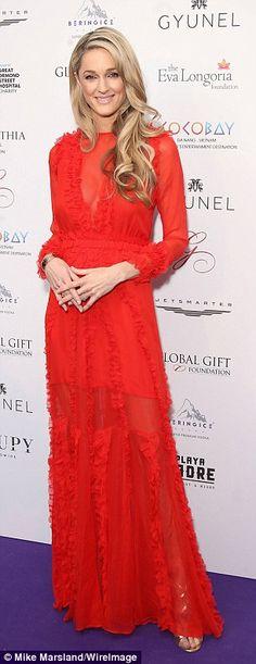Eva Longoria dazzles at star-studded Global Gift Gala