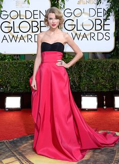 See all of the HOTTEST looks from the Golden Globes Red Carpet!
