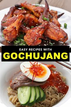 Here are 12 gochujang recipes anyone can master. This Korean hot sauce is the new sriracha and so tasty. Korean Gochujang Recipe, Magic Recipe, Original Recipe, Hot Sauce, Main Dishes, Spicy, Bacon, Dinners, Easy Meals