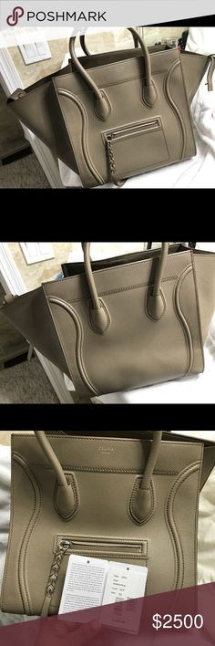 Celine luggage sm sh bag This is a authentic Celine luggage sm sh bag. Worn once I have the price tag and dusk bag included it's in excellent condition. Celine Bags