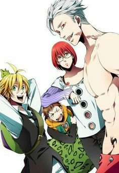 Curte The Seven Deadly Sins? Descubra todos os personagens no Global Geek! Otaku Anime, All Anime, Me Me Me Anime, Manga Anime, Anime Art, Seven Deadly Sins Anime, 7 Deadly Sins, Naruto Sharingan, 7 Sins