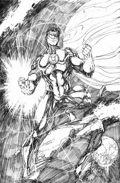 Green Lantern (Hal Jordan) by Brett Booth