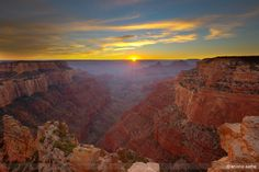 Grand Canyon Sunset by Shishir Sathe on 500px