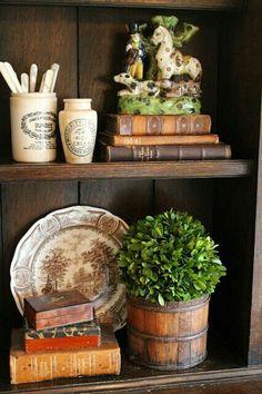 English cottage style decor