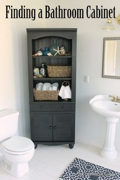 Finding A Bathroom Cabinet