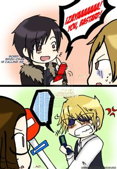 Cute Shizaya | DRRR!! SHizaya - Ringtone by ChibiGaia on deviantART