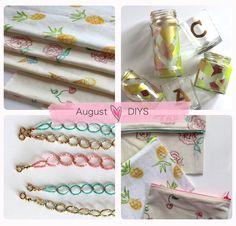 DIY round-up - August