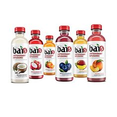 bai5 GREEN JUNGLE VARIETY 5-calories 100% NATURAL antioxidant infused beverage 18-OZ, PACK 12 * Check out the image by visiting the link. Coconut Drinks, Coconut Water, Help Constipation, Juice For Life, Juicing For Health, Coconut Cream, Drinking Tea, Healthy Drinks, Gourmet Recipes