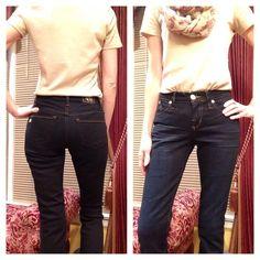 Rock & Republic jeans.  Worn once! Dark wash Kendra Curvy boot cut, size 2M Rock & Republic Jeans Boot Cut
