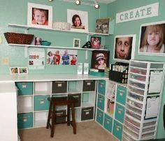 Plans de travail et bureaux pour ateliers créatifs