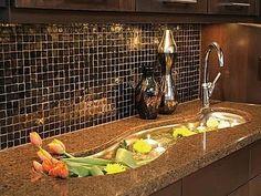 Glass Tile Backsplash Images on Backsplash Glass Tile For Modern Kitchen   Indohomedesign