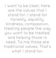 "Ellen DeGeneres on the One Million Moms protest against her as JCPenneys spokesperson for not promoting ""traditional values"""