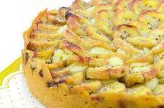 Gracias a la manzana y el plátano podrás descubrir un nuevo sabor, así que no esperes mas para hacer esta riquísima tarta de manzana y plátano .