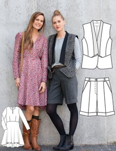 Read the article 'Street Style: 8 New Women's Sewing Patterns' in the BurdaStyle blog 'Daily Thread'.