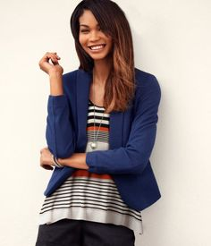 Blazers in a color other than black!