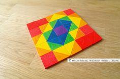 Mosaik mit Spielgabe 7