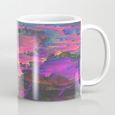(ACID Mug) #Abstract #Colorful #Colors #Design #Digital #Glitch #Graphic #GraphicDesign #Neon #Pixel #Pop #PopSurrealism #Rainbow is available on Funny T-shirts Clothing Store   http://ift.tt/2ajrOe8
