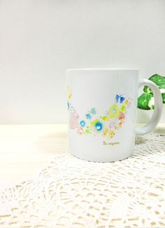 花畑マグカップ