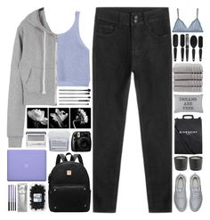 """""""#774"""" by giulls1 ❤ liked on Polyvore featuring NIKE, Givenchy, esum, Park B. Smith, MAC Cosmetics, Christy, Clinique, Davines, women's clothing and women"""