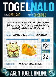 Pools JP 2D Togel Wap Online TogelNalo Gorontalo 29 Mei 2017