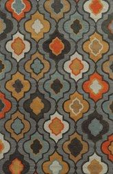 Rizzy Home 'Quatrefoil' Hand Tufted Wool Area Rug