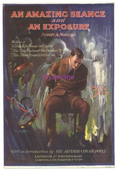 Sir Arthur Conan Doyle advert Book cover Leaflet An Amazing Seance Syd Moseley An Sir Arthur, Arthur Conan Doyle, New Books, Advertising, Bible, Cover, Amazing, Artwork, Biblia