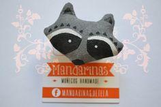 mapache01 | Mandarinas mandarinasdetela.wordpress.com | #handmade #doll
