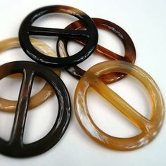 Anneau Grand Rond Horn Scarf Ring                                                                                                                                                                                 More