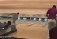 17 GIFs That Suggest This Isn't Exactly How Bowling Works from GifGuide