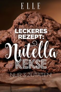 You only need 3 ingredients for these delicious Nutella biscuits, from cheesecake to pizza to French toast – with Nutella everything becomes much more delicious when cooking and baking. Nutella Snacks, Nutella Cookies, Nutella Recipes, Easy Smoothie Recipes, Snack Recipes, Pizza Recipes, Cookie Recipes, Biscuit Nutella, Quick Snacks