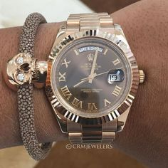 Rolex Day-Date II pair with VERÜS bracelet$27500for more info - brands of watches for mens, nice watches, mens fashion watches *sponsored https://www.pinterest.com/watches_watch/ https://www.pinterest.com/explore/watches/ https://www.pinterest.com/watches_watch/invicta-watches/ http://www.bonton.com/sc1/jewelry-watches/watches/