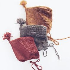 When in doubt, go Norwegian. Or Dane. Or Swedish. All of those ice-bound countries have amazing hand-made warmth down to an art! Knitting For Kids, Baby Knitting Patterns, Knitting Projects, Crochet Patterns, Knit Crochet, Crochet Hats, Diy Bebe, Knit Basket, Baby Hats