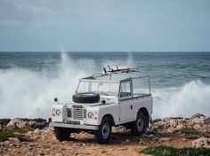 Landy on the Rocks
