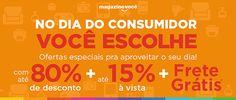 Dia Mundial do Consumidor | Aqui o Você Escolhe | Black Friday Brasil
